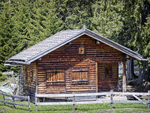 Old log cabin Royalty Free Stock Image
