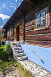 Old log hause Royalty Free Stock Images