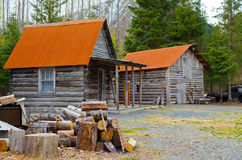 Old log home Royalty Free Stock Image