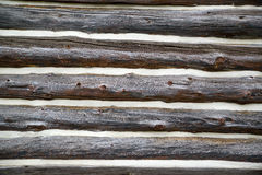 Old log home wall Royalty Free Stock Photography