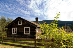 Old Log House Stock Images