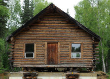 Old log house Stock Image