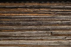 Old log house Stock Image