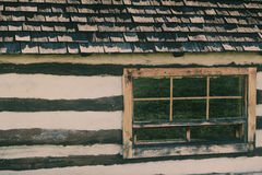 Old Log House - Retro Royalty Free Stock Photo