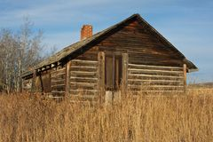 An old log house Stock Photos