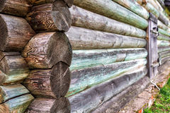 Old log house wall Royalty Free Stock Images
