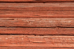 Old log wall Stock Images