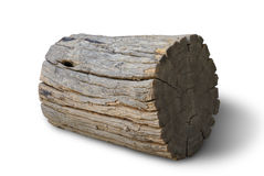 Old log wood Royalty Free Stock Images