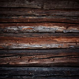 Old logs background Royalty Free Stock Photos