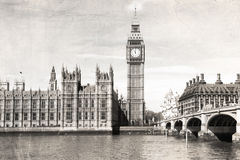 Old London Royalty Free Stock Photos