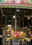 Old London carousel. A vintage carousel at the London Zoo Royalty Free Stock Images