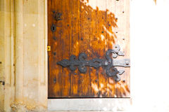 old london door in   abstract hinged Stock Image