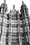 Old in london  historical    parliament glass  window    structu Royalty Free Stock Photography