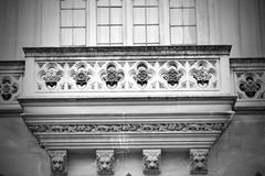 Old in london  historical    parliament glass  window    structu Stock Images