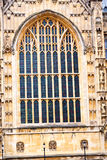 Old in london  historical    parliament    window Stock Photography