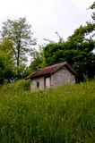 old lonely cabin Royalty Free Stock Photo