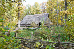 Old longhouse Stock Images
