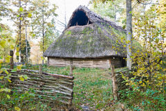Old longhouse Royalty Free Stock Photo