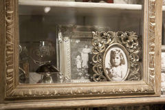 Old looking photo frame Royalty Free Stock Image