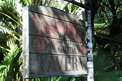 Old looking tavern sign royalty free stock photos