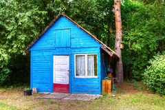 Old lost shack in the forest Royalty Free Stock Photo