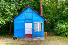 Old lost shack in the forest Royalty Free Stock Photos
