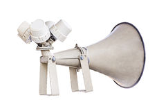Old loudspeaker Royalty Free Stock Images
