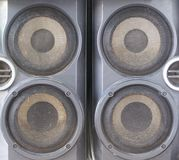 Old loudspeaker is classic stock photo