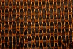 Old Loudspeaker Fabric Pattern Stock Images