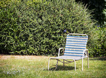 Old lounge chair Royalty Free Stock Photo