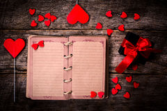 Old love book Royalty Free Stock Images