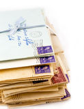 Old Love Letters Stock Photos