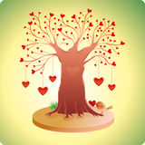 Old Love Tree Royalty Free Stock Images