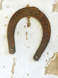 Old lucky horseshoe. Royalty Free Stock Photo