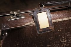Old Luggage Stock Photography