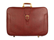 Old luggage Stock Images