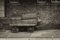 Old luggage Royalty Free Stock Images