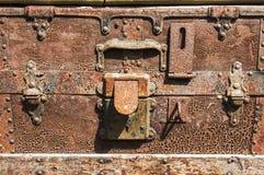 Old luggage Royalty Free Stock Photo