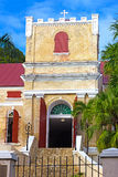 Old Lutheran Church on St Thomas Island, US VI. Royalty Free Stock Photography