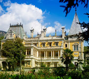 Old luxurious palace exterior Royalty Free Stock Photography