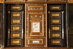 Old luxury bureau close up Royalty Free Stock Photography