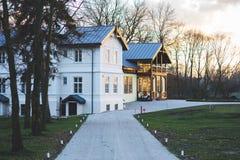 Old luxury villa exterior Stock Image