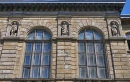 Old Lviv Polytechnic University building Royalty Free Stock Photos