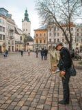 Old Lviv, Ukraine Royalty Free Stock Photo