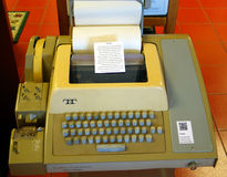 An old machine at a computer museum Stock Images