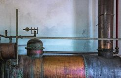 Old machine of distillation. Europe,Portugal Stock Photos