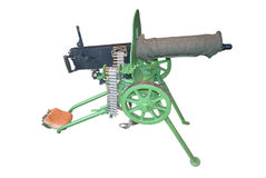 Old machine gun Royalty Free Stock Photography