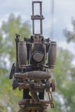 Old machine gun Stock Images