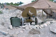 Old Machine Gun Royalty Free Stock Photos