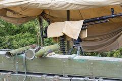 Old Machine Gun Royalty Free Stock Images